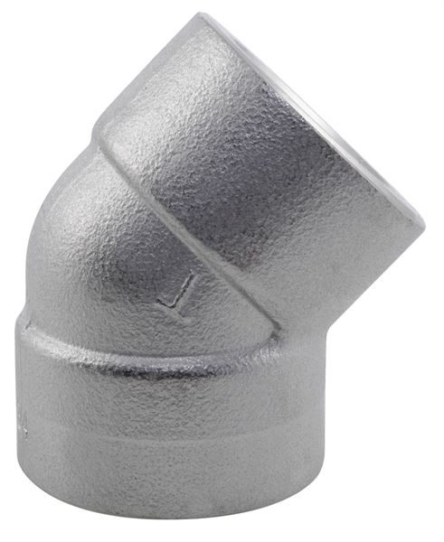 BSPT 45° Elbow 3000LB 316 Stainless Steel