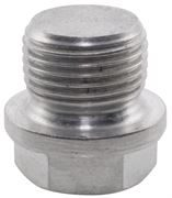 Hexagon Flanged Plug BSPP 316 Stainless Steel