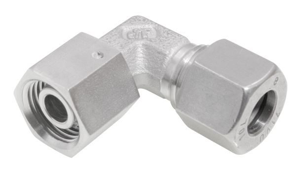 Adjustable Standpipe Elbow Single Ferrule Compression 316 Stainless Steel