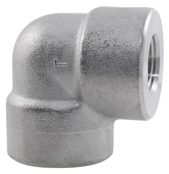 NPT 90° Elbow 3000LB 316 Stainless Steel