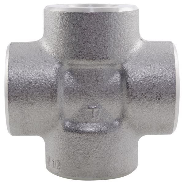 NPT Equal Cross 3000LB 316 Stainless Steel