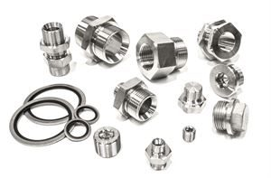 Hydraulic Fittings 316 Stainless Steel