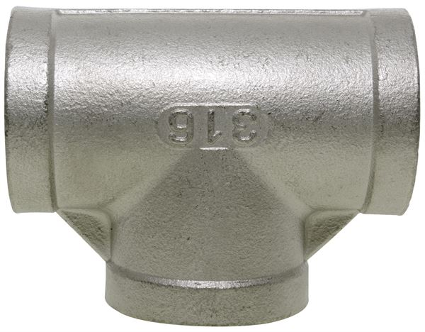 NPT Equal Tee 150LB 316 Stainless Steel