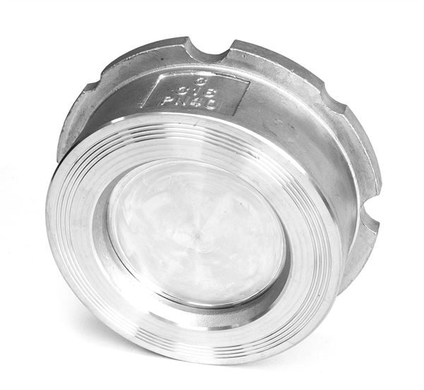 Wafer Disc Check Valve PN16/40, ASA150/300 316 Stainless Steel