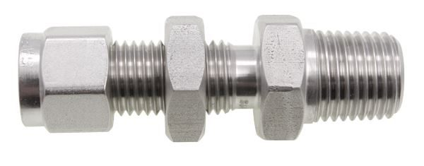 Male-Bulkhead-NPT-Twin-Ferrule