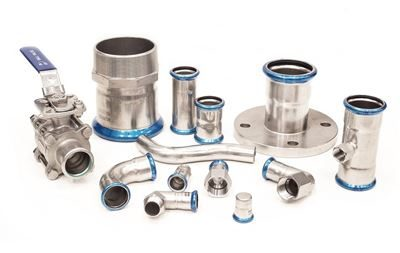 Press Fittings & Tube 316 Stainless Steel