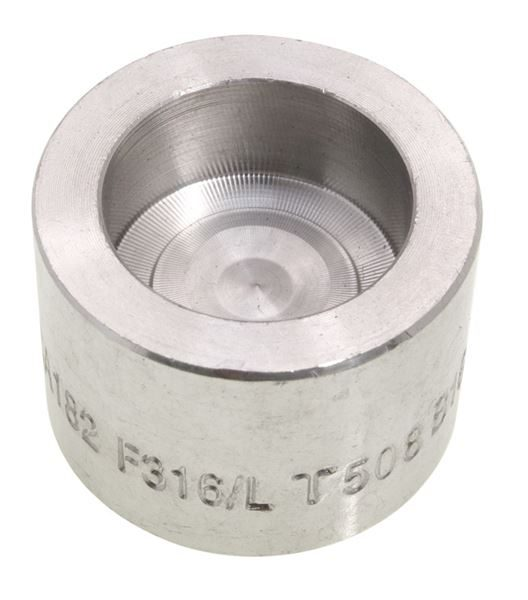 Socket Weld (SW) Round Cap 3000LB 316 Stainless Steel