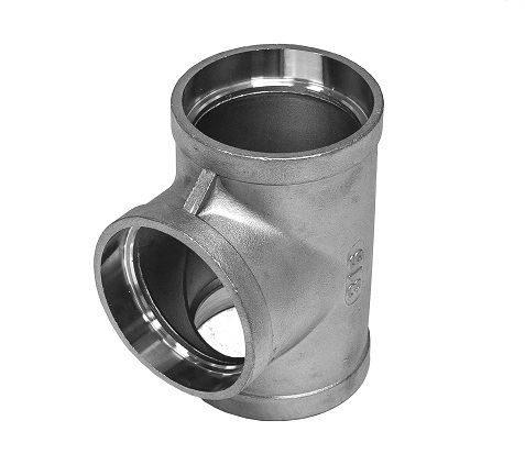 Socket Weld Equal Tee 150LB 316 Stainless Steel
