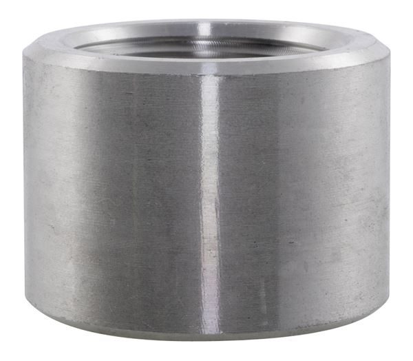 BSPP Half Coupling 3000LB 316 Stainless Steel