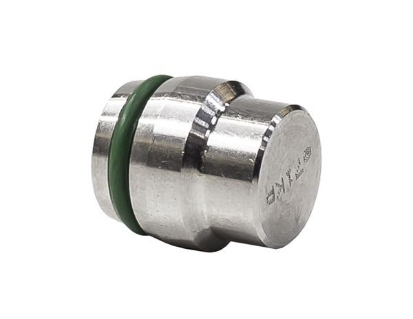 Plug with O-Ring Single Ferrule 316 Stainless Steel
